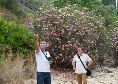 Barrancos de Picassent a vista de dron